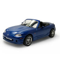 Mazda MX-5 Convertible Sports Car 1:43 Model Car Diecast Gift Toy Vehicle Blue