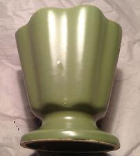 Hull Pottery, Green Planter, Vintage - USA