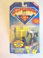 "1996--SUPERMAN ""Evil Alien Braniac"" (action figure) by Kenner [NIP]"
