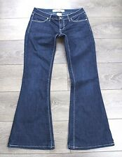 "Blue JEANS MET MADE IN ITALY Bootcut Stretch Zip Women's Jeans TAGLIA W32"" L31"""