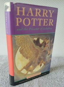 Harry Potter Prisoner of Azkaban J.K Rowling 1st Edition 2nd Print HB/DJ 1999
