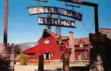 Peter Pan Rancho Club Big Bear City, California Roadside Vintage Postcard c1950s