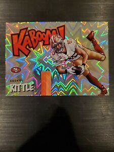 2020 Panini Absolute George Kittle KABOOM ! SP San Francisco 49ers Case Hit!