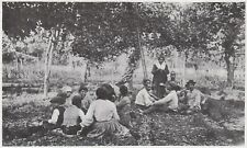 D6554 Ottobrata popolare - Stampa d'epoca - 1909 vintage print