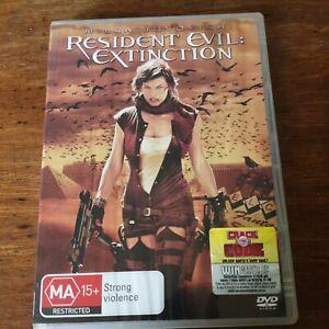 Resident Evil Extinction DVD R4 Like New! FREE POST