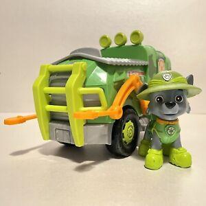 Paw Patrol Jungle Rescue - Rockys Jungle Truck & Figure - Spin Master