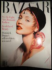 Vtg BAZAAR 4/1993 Naomi Campbell Audrey Hepburn Zap Mama Oscar de la Renta