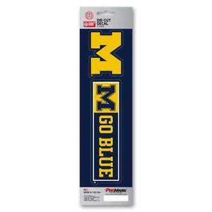 Michigan Wolverines Decal Die Cut Slogan Pack [NEW] Car Truck Auto Sticker