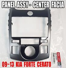 KIA 2009-2013 Forte Cerato Center Facia Panel Genuine OEM  84740-1M700DAJ