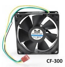 3-Pin 80mm CPU Case / Power Supply Sleeve Bearing Cooling Fan, CF-300