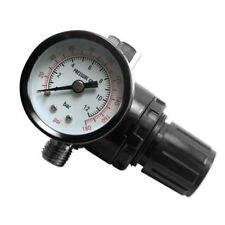 HD Air Regulator with Pressure Gauge, In-Line Air Regulator, Spray Gun Regulator