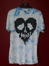 RARE GENUINE ORIGINAL VINTAGE 2014/15 Drop Dead Skull Acid Wash T Shirt Size M