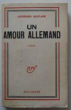 Un Amour Allemand - Georges Auclair