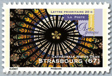 2011-ADHESIF TIMBRE NEUF**/CATHEDRALE DE STRASBOURG//STAMP.Y/T.558a