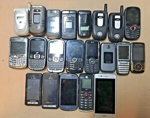 21 Different  Used Phones  (A)