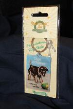 Anhänger - Schlüssel - Metall - Hund Welpe Dogs Puppy - Vintage - Nostalgic Art