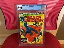 Jungle Action #8 CGC 9.0 White Pages Black Panther