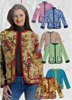2006 McCalls Sewing Pattern M5162 Womens Lined Jackets Size L-XL Fashion 7279F