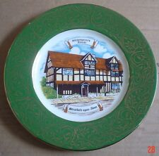 The Shakespeare Gift Shop Opposite Birthplace Stratford Upon Avon Plate