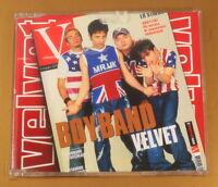 VELVET - BOYBAND - 2001 EMI - OTTIMO CD [AA-246]