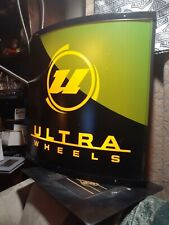Ultra Wheels Lighted Sign