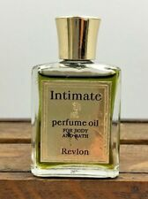 Vintage Intimate Perfume Oil For Body And Bath 0.5 Oz. By Revlon Full