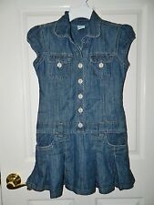 PUMPKIN PATCH girls Blue Denim Skirted DRESS* 10