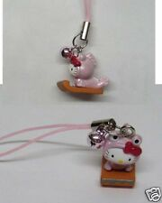 Hello Kitty Cosplay Frog Fish B CellPhone Charm Strap