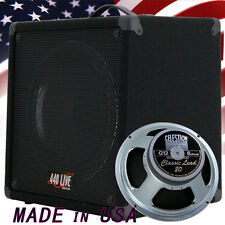 1X12 guitar speaker cabinet w 16 ohm Celestion Classic Lead 80 speaker G1X12Sl
