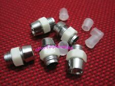 100pcs, 5mm Plastic Silvery White LED Cover Clip LED Holder Display Panel