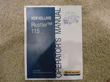 115 Rustler New Holland Tractor UTV Operators Manual