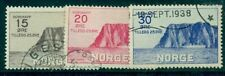 Norway #B1-3 Nordcap Set Complete, used, Vf