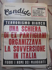 CANDIDO TERRORISMO BIANCO 1 AGOSTO 1974