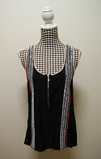 COUNTRY ROAD TOP EMBELLISHED SLEEVELESS TOP, Sz XS/8 (also suit 10)