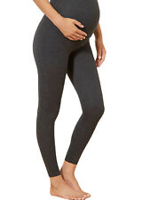 Charcoal soft stretch Over Bump Maternity Calinkalin Leggings