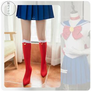Anime Sailor Moon Tsukino Usagi Cosplay Socks Costume Boots Cover Shoes Case