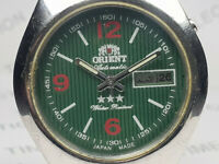 Vintage Orient Day Date Mens Analog Mechanical Automatic Wrist Watch OG235