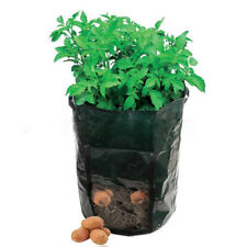 Green Potato Patio Planter Planting Bag PE/Felt Cloth Grow Container Garden Pots