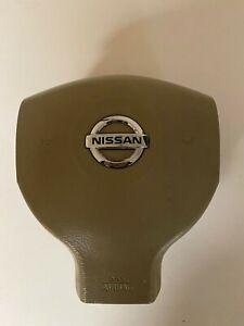 Nissan Versa Steering Driver Wheel Airbag OEM Tan