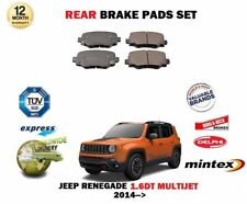 For jeep renegade 1.6dt CRD 2014 > new set of rear brake pads
