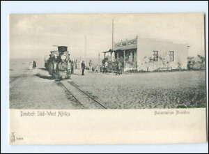XX15091/ Bahnhof Nonidas Deutsch-Süd-West-Afrika Swakopmund Kolonien AK ca.1900