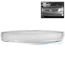 06-10 CADILLAC DTS FRONT UPPER STAINLESS STEEL MESH GRILLE GRILL INSERT CHROME