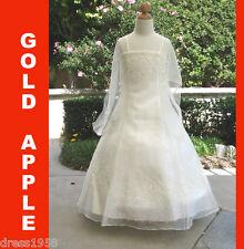 Teen Girl Wedding, Recital, Occasion/Pageant Girls Dress, Ivory,Sz: 12 (12 years