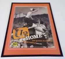U2 Go Home 2003 Best Buy 11x14 Framed Original Advertisement