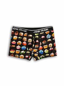 Men's Boxer Shorts Cupcake Print John Frank Slim Fit