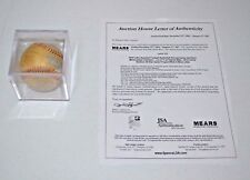 SIGNED 80'S MILWAUKEE BREWERS MLB BALL JSA ROLLIE MOLITOR UECKER YOUNT SELIG HOF