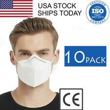 10-PACK Face Mask KN95 KN-95 GB2626-2006 PM2.5 Medical