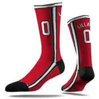 Damian Lillard Portland Trail Blazers Strideline NBA Jersey Classic Crew Socks -
