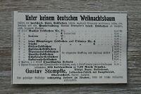 Werbung Anzeige 1900 G Stempfle Oberstdorf Lebkuchen Weihnachten ++ Holzschnitt