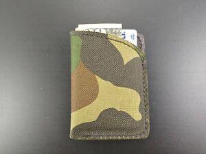 NEW Handmade Slim Minimalist Faux VEGAN leather wallet front pocket Micro Wallet
